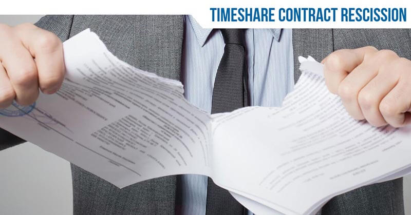 Timeshare Rescission Period: What Does It Mean?